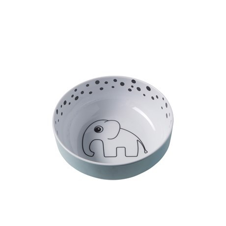 Done by Deer Happy Dots Yummy Bowl, blue