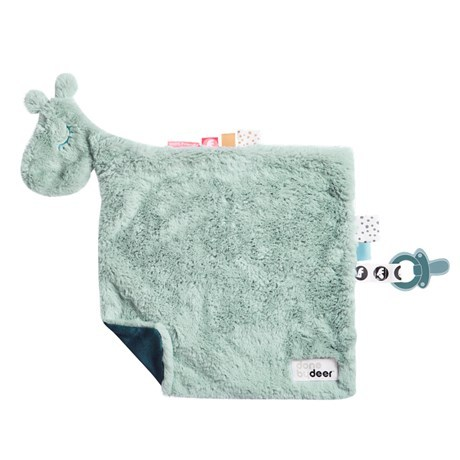 Done by Deer, Comfort blanket, Raffi, blue